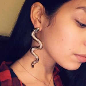 Jewelry - 🆕 Statement Drop Snake Earrings